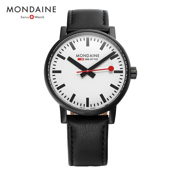 [몬데인시계 MONDAINE] MSE.40111.LB / Swiss Railways Evo2 40mm 타임메카
