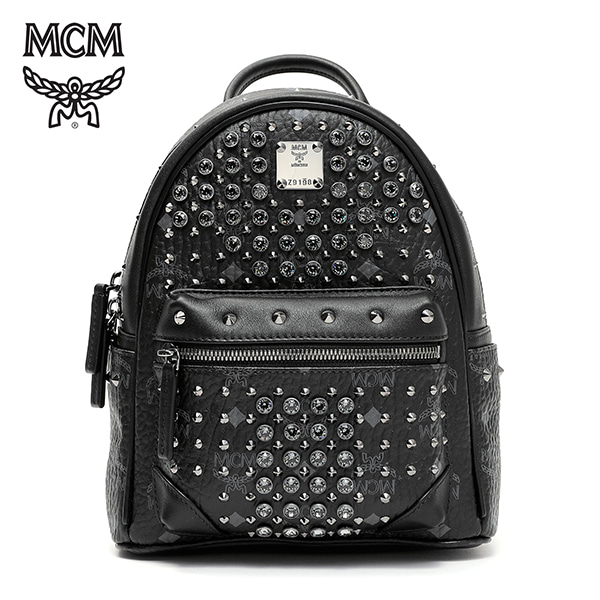 [엠씨엠 MCM] MWK6SVI86BK001 (MWK6SVI86)  / DIAMOND VISETOS BACKPACK MINI 백팩