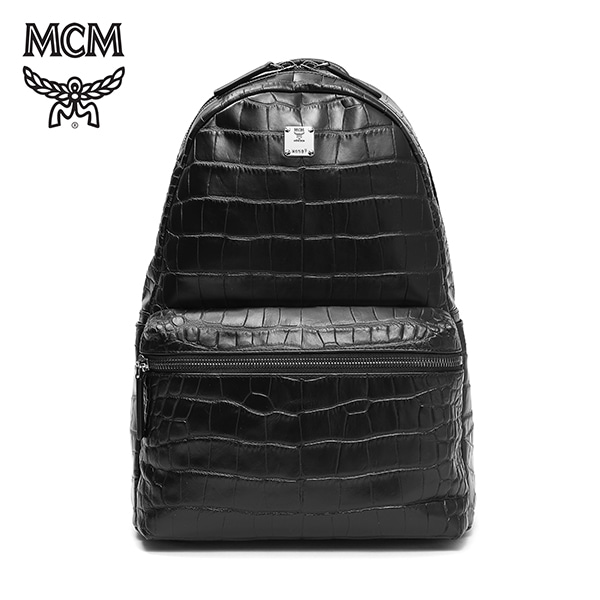 [엠씨엠 MCM] MMK6SLU06BK001 (MMK6SLU06)  / STARK LUXUS BACKPACK Medium 스타크 백팩